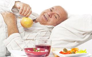 Принципы питания при раке желудка