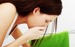 Боль в желудке и рвота: возможные причины
