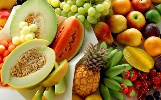 Польза и вред фруктов при язве желудка