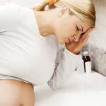 Тошнота - симптом гастрита при беременности