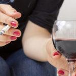 Курение и употребление алкоголя - алиментарный факторы