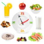 Соблюдение правильно питания