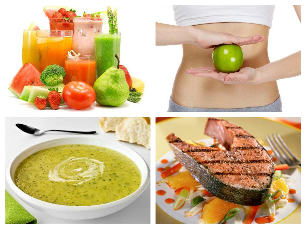 Блюда для однодневной очистительной диеты