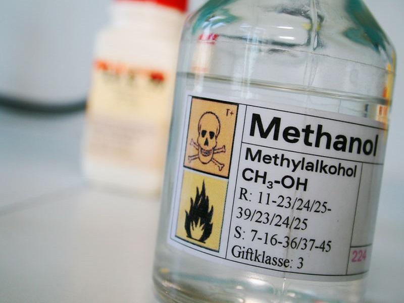 Чем промывать желудок при отравлении метиловым спиртом